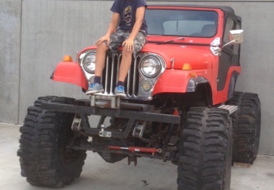 Jeep CJ 5, V8-Offroad Monster Super Swamper