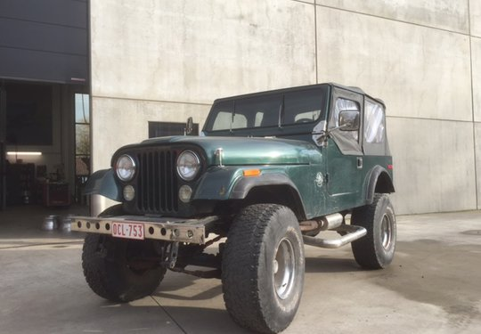 Jeep CJ7 V8 Quadra Trac