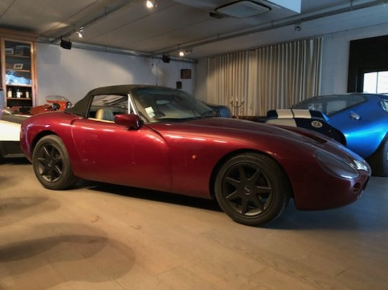 TVR Griffith 400 V8 oldtimer BE papieren