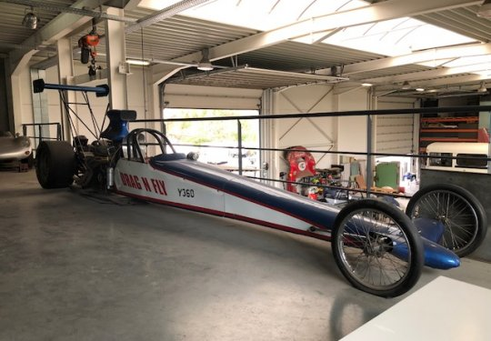 Dragster Nostalgia Top Fuel